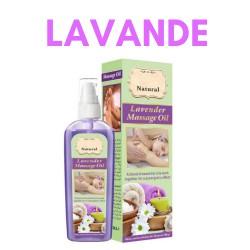 huile de massage relaxante pour le corps