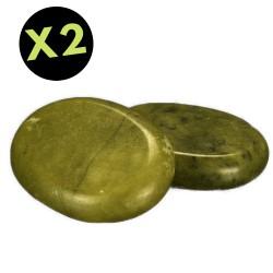 pierre de jade verte de Massage